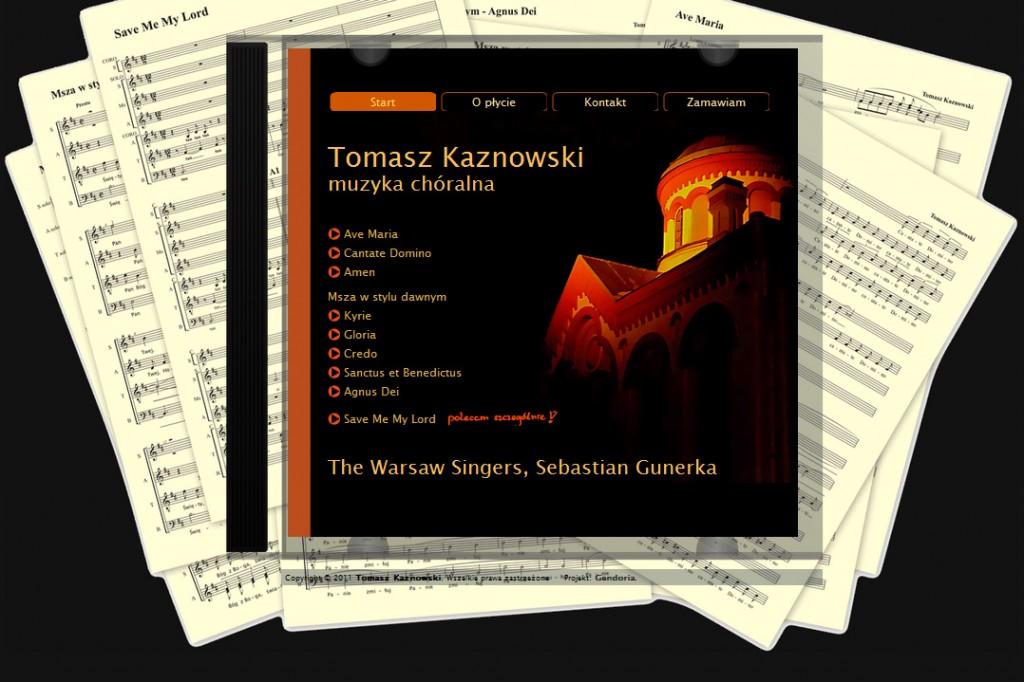 Tomasz Kaznowski muzyka chóralna